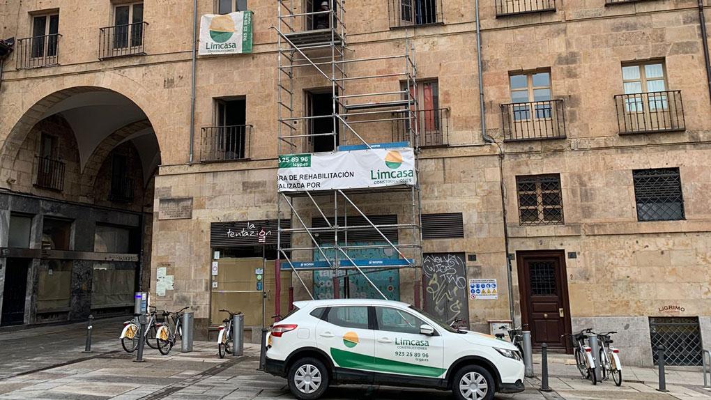 Edificio en reformas